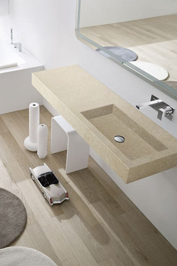 Designer Waschbecken von Rexa Design in minimalistischer Optik - spiegelschrank badezimmer günstig
