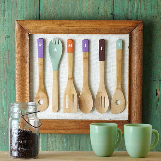 25 Creative DIY Wooden Spoons Crafts | Daily source for inspiration and fresh ideas on Architecture, Art and Design