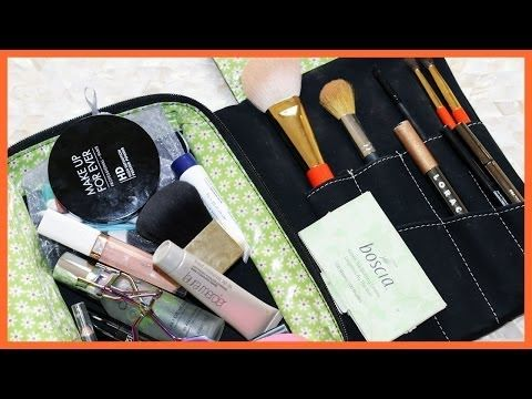 ▶ MAKEUP BAG TOUR + Lorac Pro Palette Giveaway - YouTube This have great this of what to take in your travel bag and on the go in your purse from one of my most favorites gurus @Tati