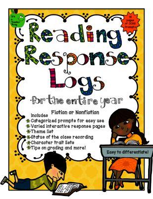Best 25+ Reading Response Log ideas on Pinterest   Log reader ...