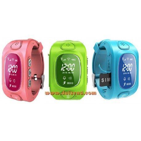 Q50 Gps horloge Editie II Blauw gebruiksklaar