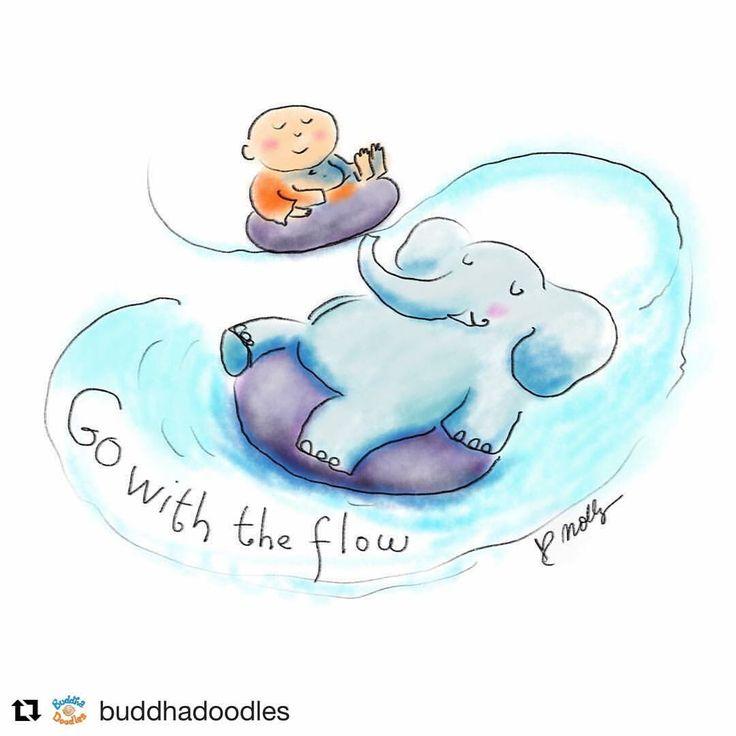 #mindfulmorning and.. Segui il flusso della Vita, resistere crea solo sofferenza #mindfulmoments #livingmindful #consapevolezza #mindfulness #mindset #awareness