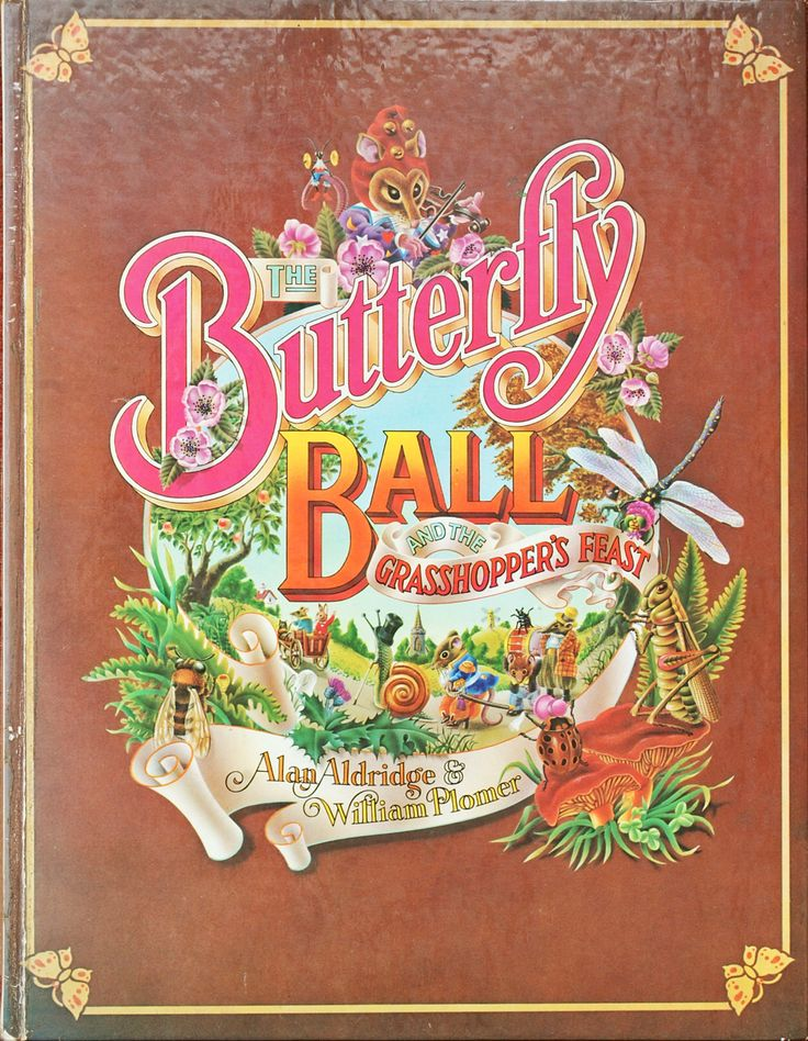 The Butterly Ball And The Grasshopper's Feast - 1st Edition Books Hardback Book - 1973 by redruthcollectables on Etsy