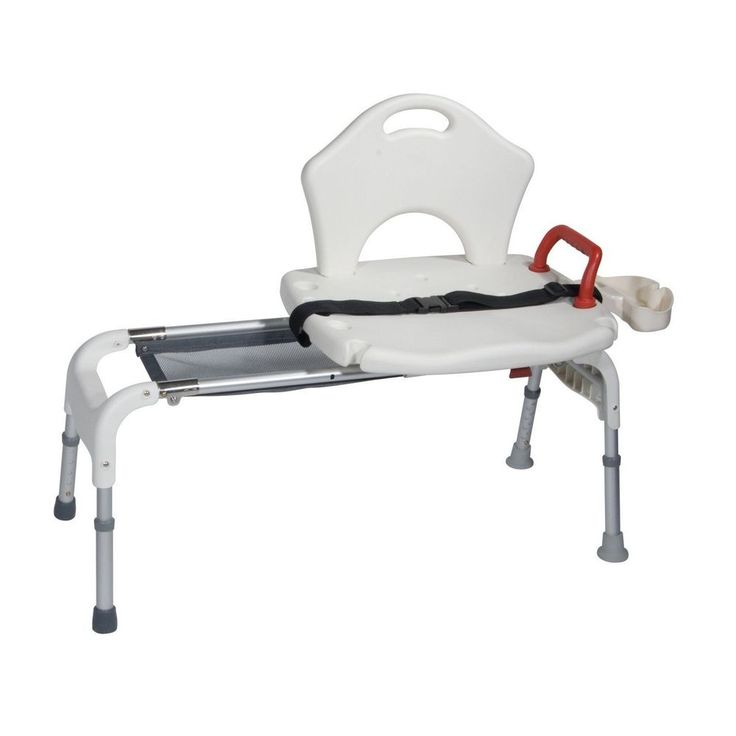 Sliding Transfer Bench Foldable Tub Aid Bath Seat Shower Medical Chair 300Lbs #DriveMedical