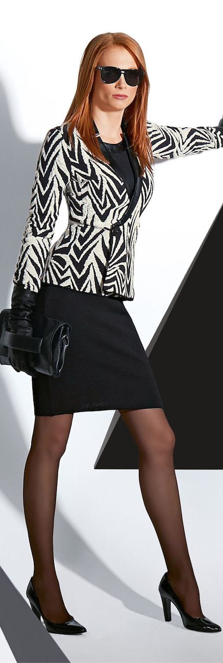 ♥Madeleine Fall 2014 ● Madeleine Skirt and Knit Blazer