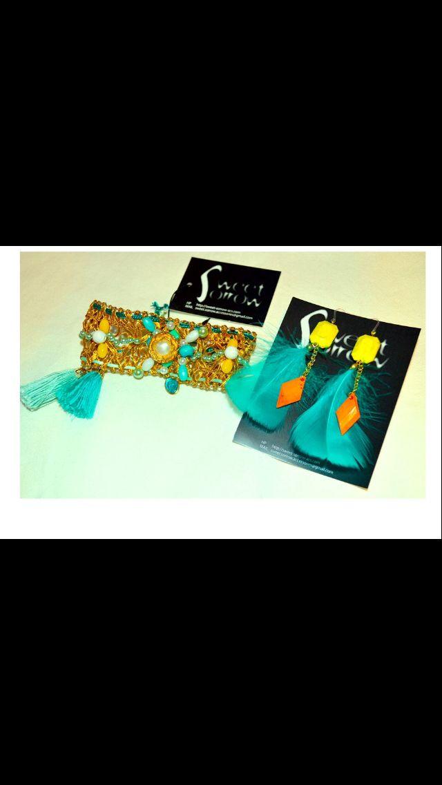 Bracelet earring