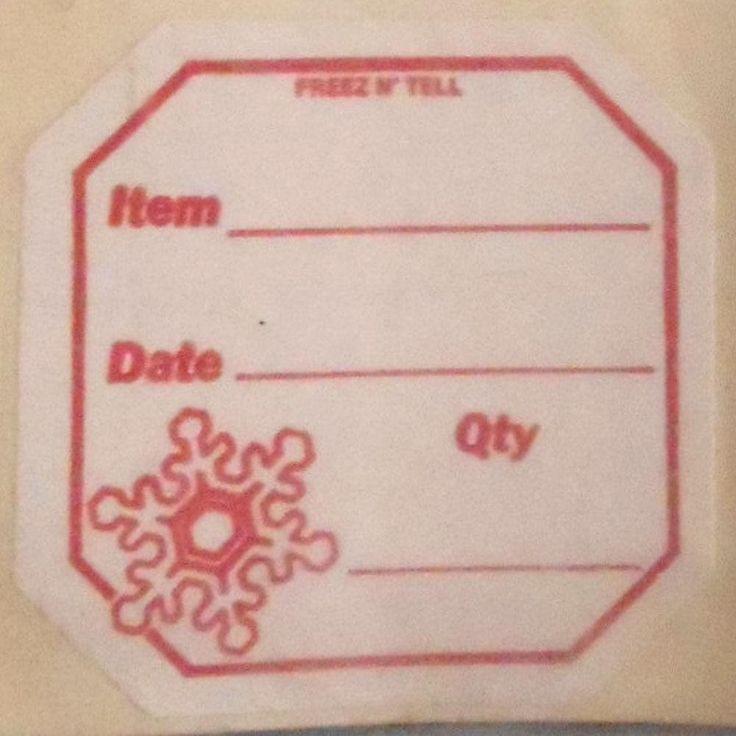 Vintage UNUSED NOS 48 pc blank #Canning jar freezer food STORAGE #labels 2 1/4 x 2 1/4 inch decorative #stickers paper craft supplies supplies #Etsy