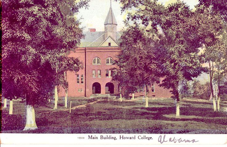 Main Building - Old Howard College, Birmingham, AL 1907-1915