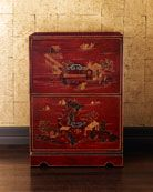 H40TS Chinoiserie File Cabinet