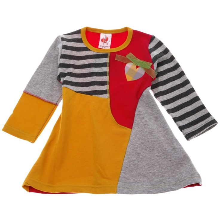 Scarabeo παιδικό φόρεμα «Collage»  €12,90