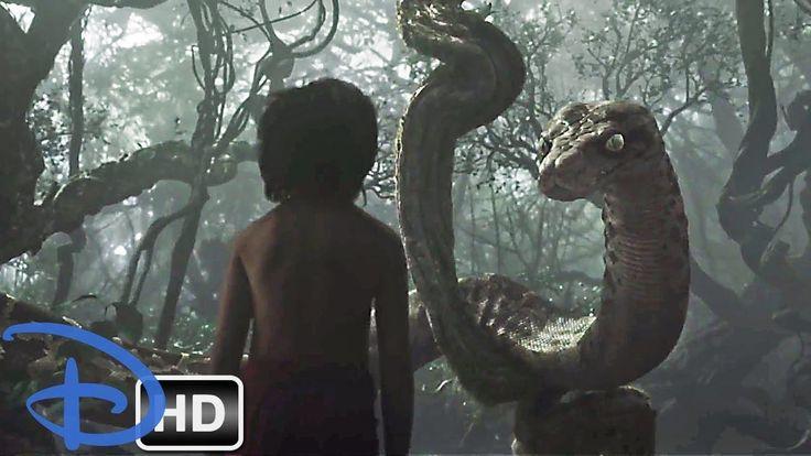 Mowgli Meets KAA   The Jungle Book 2016 HD