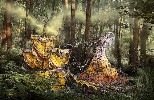 Wonderland - 'She'll Wait For You In The Shadows Of Summer' by Kirsty Mitchell