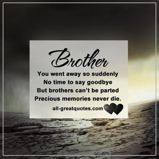 In Loving Memory Cards | quotes | Brother quotes, Death ...