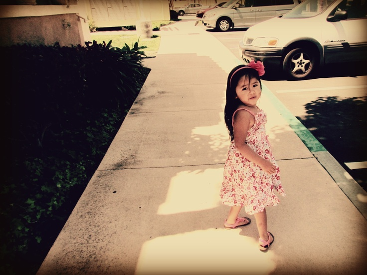 She is the apple of my eye<3