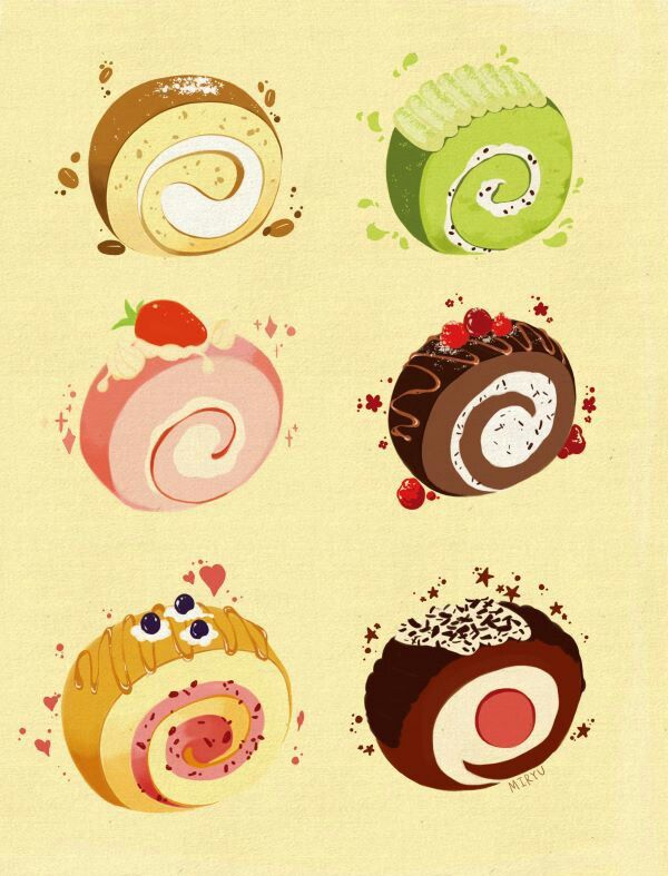 Roll cakes ~ variety