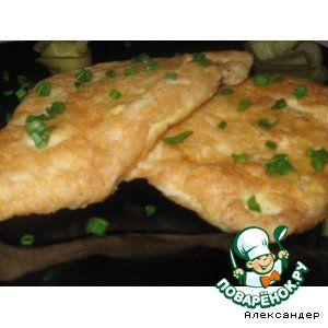 Филе куриное— 4 шт  • Яйцо— 1 шт  • Мука— 0,5 стак.  • Перец черный(молотый)  • Соль • Масло растительное