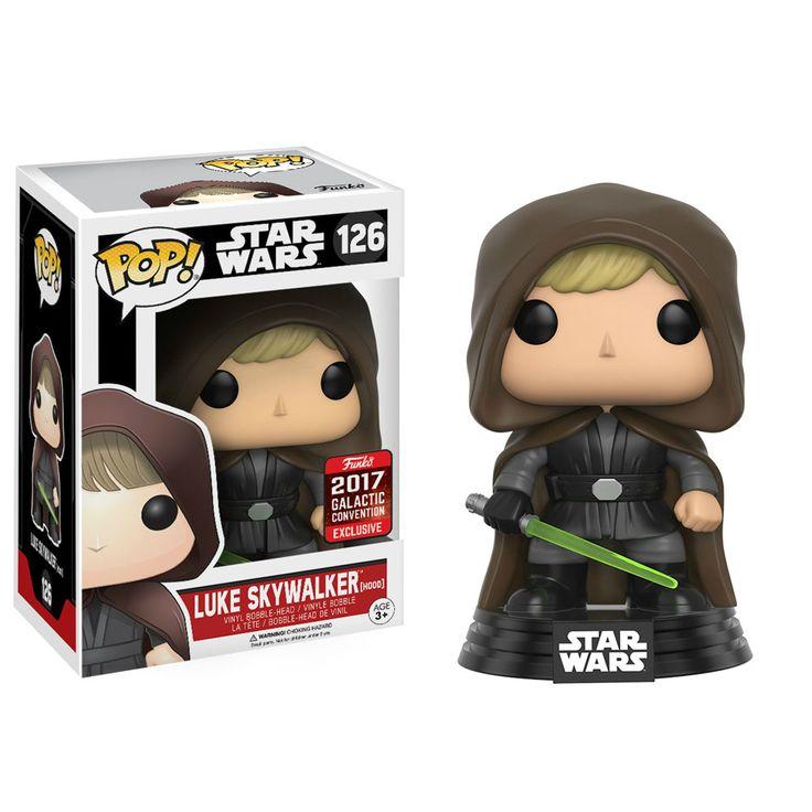POP Star Wars Luke Skywalker (Hood) 2017 Galactic Convention Exclusive (RS)