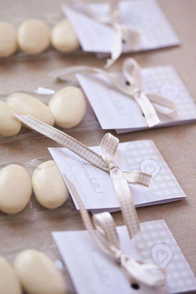Dragées de mariage blanc - Et si on revisitait les traditionnelles dragées ?  - Elle