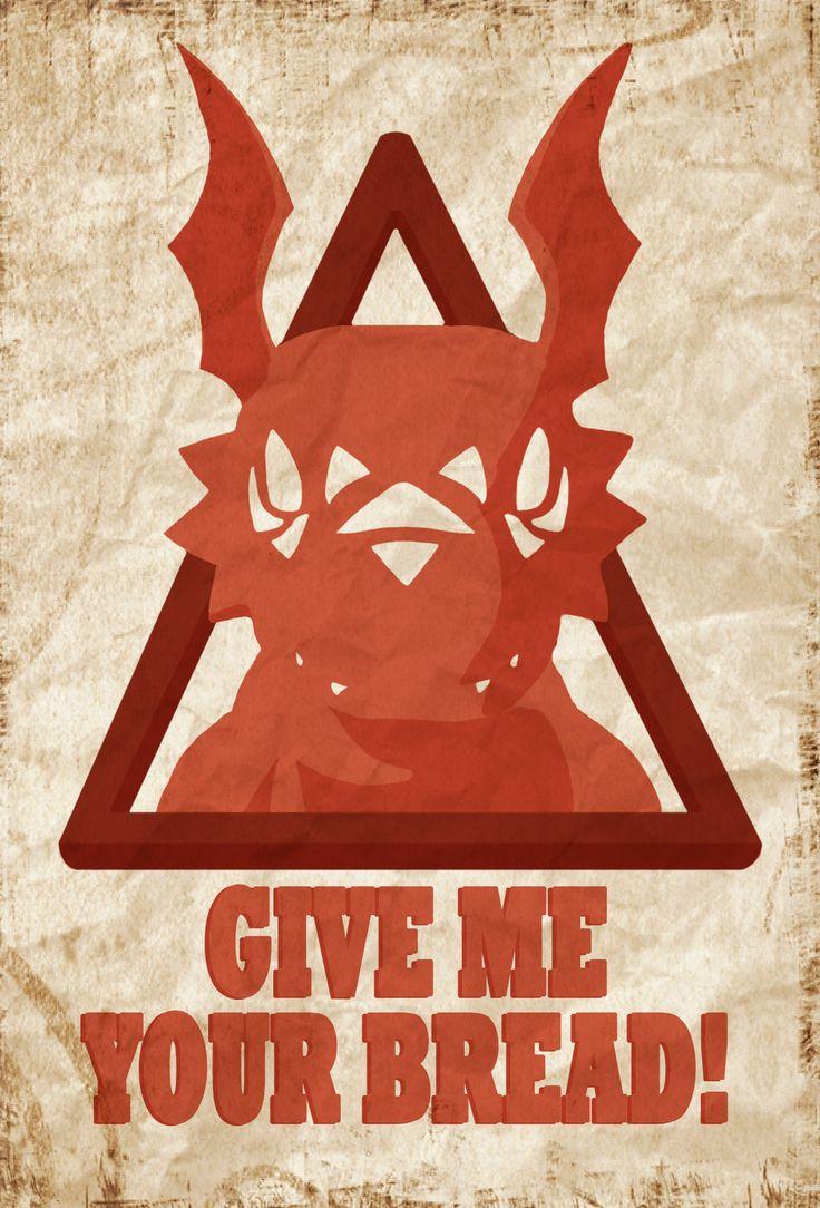 Obey Guilmon by =Hyphem on deviantART