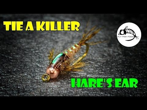 Fly Fish Food -- Fly Tying and Fly Fishing : Tie a Killer Hare's Ear