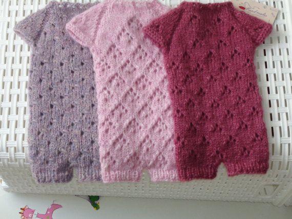 Newborn Pants Overalls .Photo Prop. Baby by knitsdwarfs on Etsy