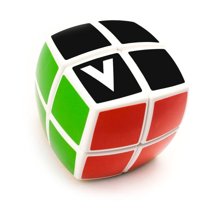 V-Cube 2, cube rubique 2x2 arrondi pillowed,  Prix 15.99$. Disponible dans la boutique St-Sauveur (Laurentides) Boîte à Surprises, ou en ligne sur www.laboiteasurprisesdenicolas.ca ... sur notre catalogue de jouets en ligne, Livraison possible dans tout le Québec($) 450-240-0007 info@laboiteasurprisesdenicolas.ca Payez moins cher, obtenez en plus ici.