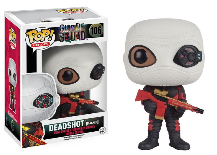 Deadshot (Masked) Suicide Squad Pop! Vinyl Heroes by Funko - Toy Tokyo
