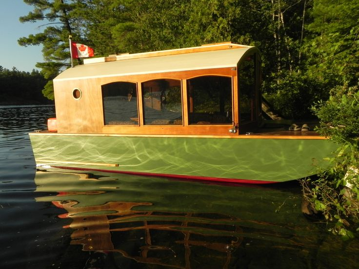 29 best boats images on pinterest boats wood boats and wooden boats in this post im going to show you a micro houseboat that you can probably build one of my favorite things about tiny houses micro cabins solutioingenieria Choice Image