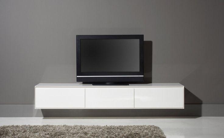 Tv meubel vision 206200190 tvdressoirs goossens for Tv meubel design outlet