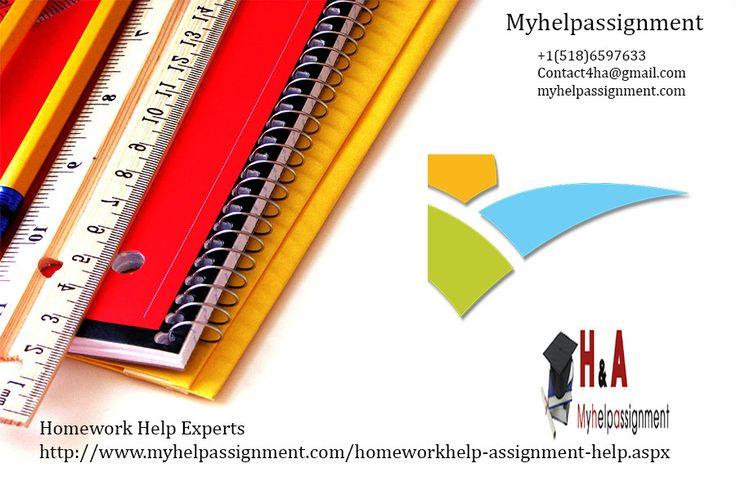 Homework help materials