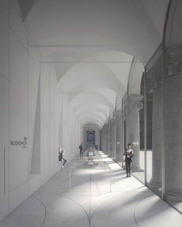 **MRSN**,  1 _st_ prize | _Torino, 2015_    _Primo Premio del concorso internazionale di architettura per la progettazione delle aree di accoglienza, dei servizi accessori e dell'immagine museale coordinata._