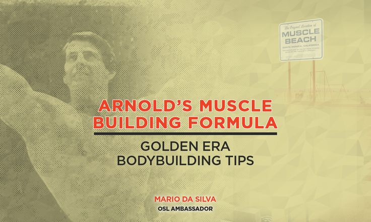 Arnold Schwarzenegger believed the best way to build muscle was to use 75% of your one-rep maximum and apply that to 8-12 reps for upper body, and 12-15 reps for legs.   Is that the formula you use? If not, try it and let us know how it works!  Keep it Old School – www.OldSchoolLabs.com