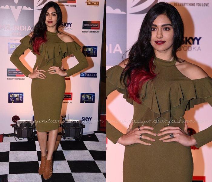 Adah Sharma at Peter England Mr. India 2016 Show, Celebrities Pictures at Peter England Mr.India 2016 Show.