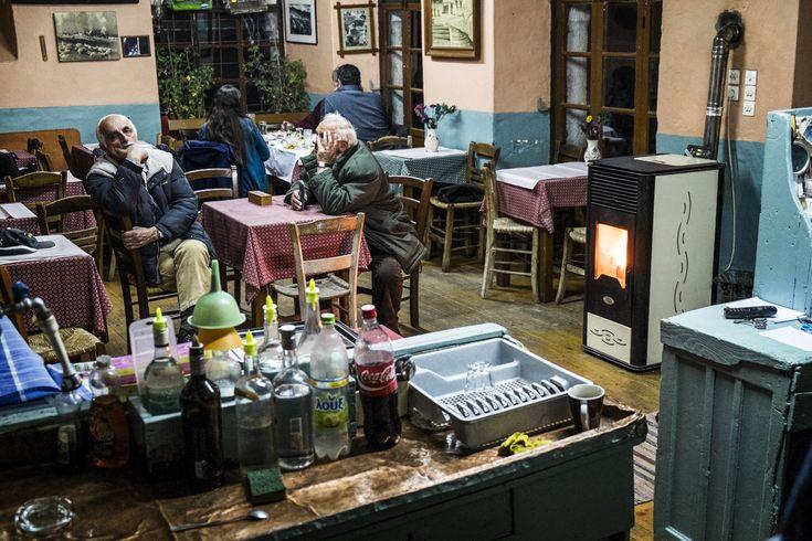 Καφενείο Ναπολέων Ζαγκλής Καλαρρύτες