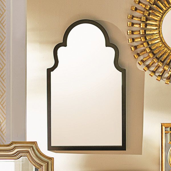 Mercer41 Evelyn Arched Oversized Wall Mirror