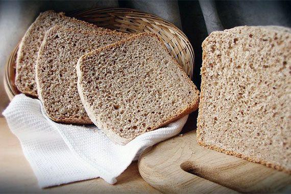 Пшеничный бездрожжевой хлеб на ржаной закваске