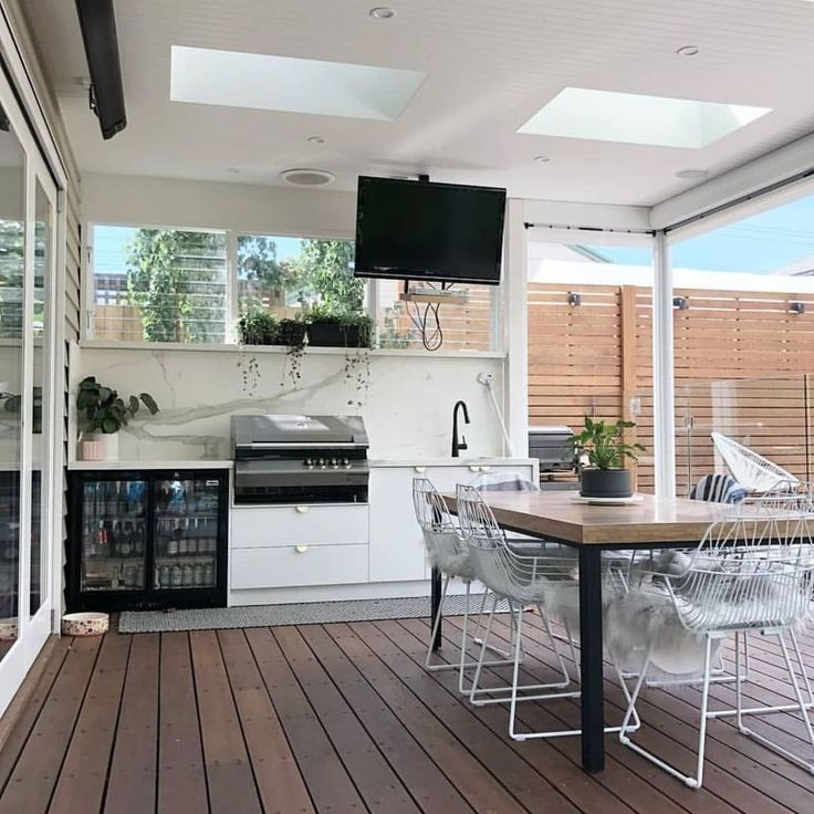 30 Brilliant Outdoor Kitchen Design Ideas For You Nowaday With Images Outdoor Kitchen Design Outdoor Bbq Kitchen Outdoor Rooms