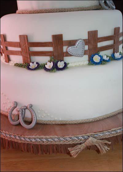 Western Wedding Cakes