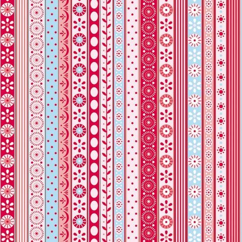 Tilda stripes borders to cut out. For scrapbooking, cards and wrapping presents…
