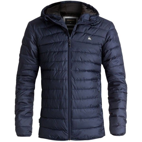 Quiksilver Quiksilver Everyday Scaly Jacket (290 BRL) ❤ liked on Polyvore featuring men's fashion, men's clothing, men's outerwear, men's jackets, men coats and jackets, mens jackets, mens quilted jacket, mens insulated jackets and mens faux leather jacket