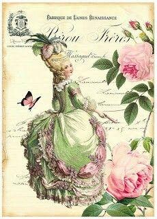 A la Marie Antoinette