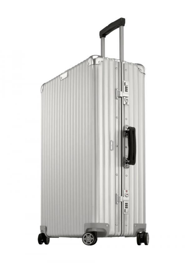 Icône du voyage: la valise Classic Flight de Rimowa - lesoir.be