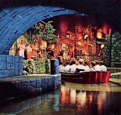 Pirates of the Caribbean. Disneyland, Disneyland Resort, Anaheim, California, United States of America. Life Magazine. 1967.