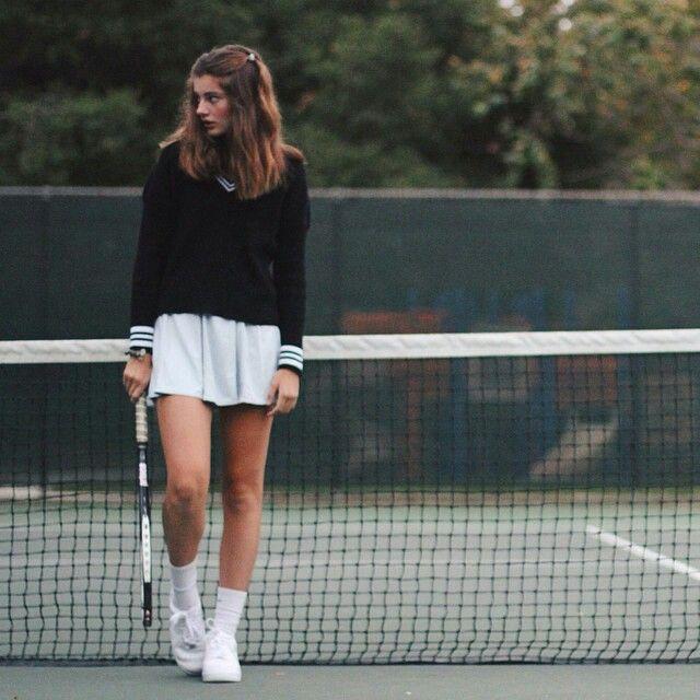 Classic tennis sweater