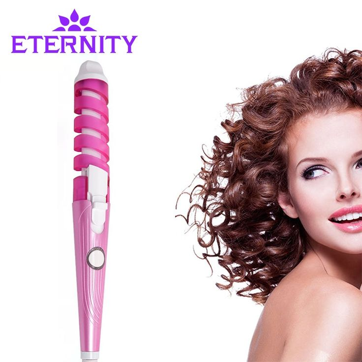 Only $9.80 , Eternity Electric Magic Hair Styling Tool Rizador Hair Curler Roller Monofunctional Spiral Curling Iron Wand Curl Styler