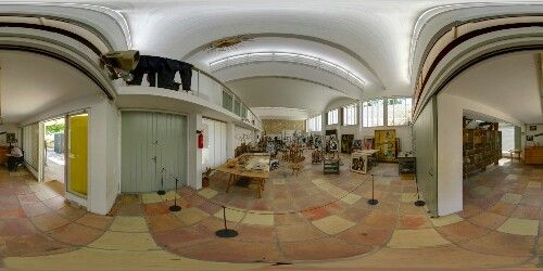 Gallery of the famous artist Joan miro