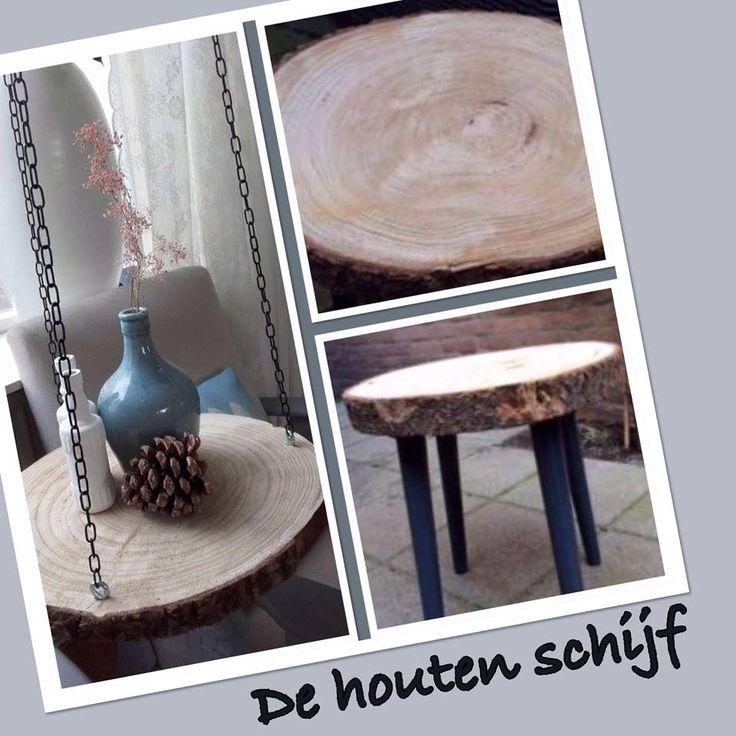 Een modern hang tafeltje met spullen van de Action | DIY met de Action | bespaarmama..nl