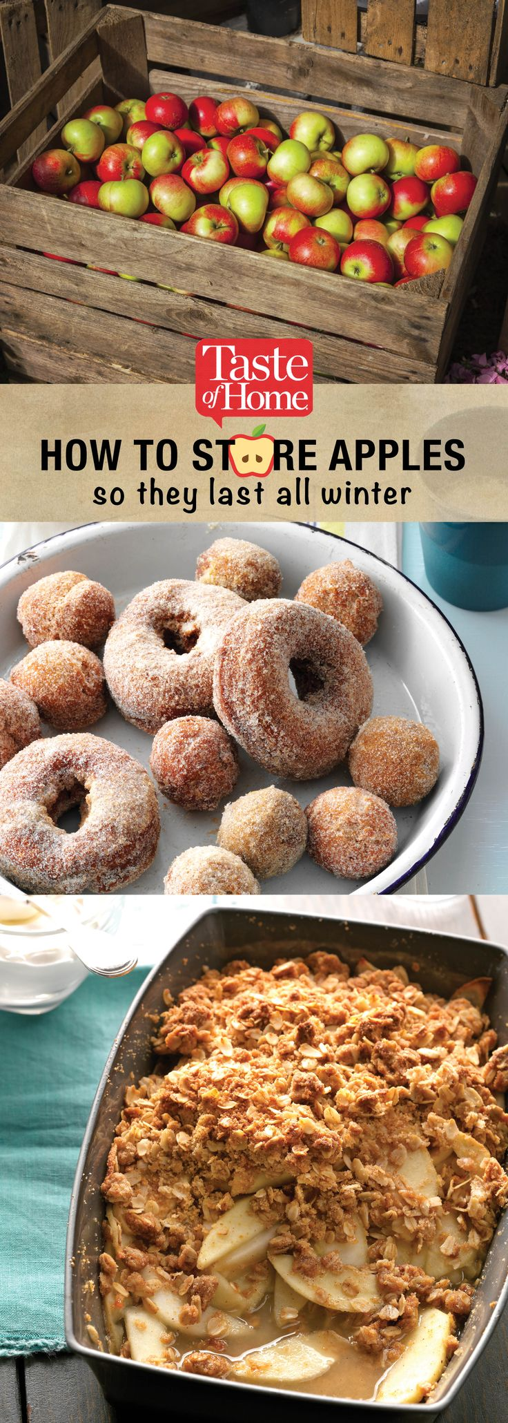 How to Store Apples So They Last All Winter (from Taste of Home)