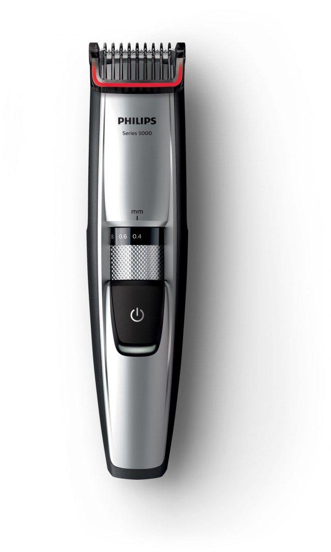 Le meilleur cadeau pour un homme barbu, une tondeuse barbe Séries 5000 de chez Philips.  Tondeuse barbe Séries 5000, Philips - 79,99€