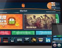 Directus Smart TV UI design